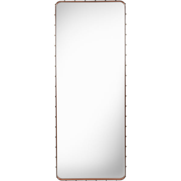 Adnet Rectangular Mirror 70x180 - Tan