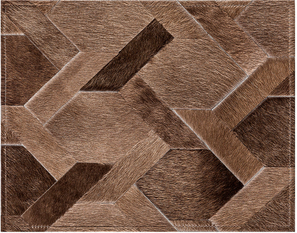 Armstrong Cowhide Rug - Sand