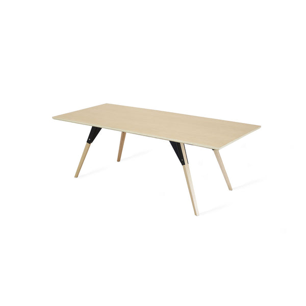 Clarke Thin Rectangle Coffee Table - Maple