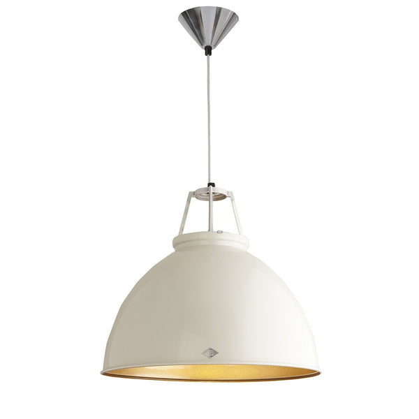 Titan 5 Pendant - Putty Grey