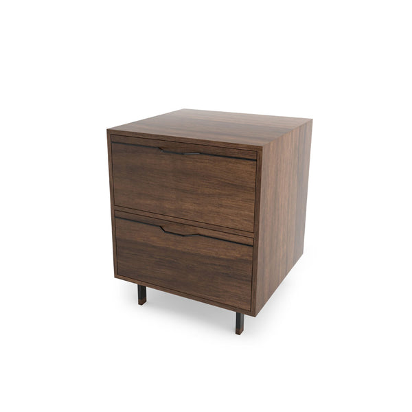 Chapman Single Unit Storage Nightstand - Walnut