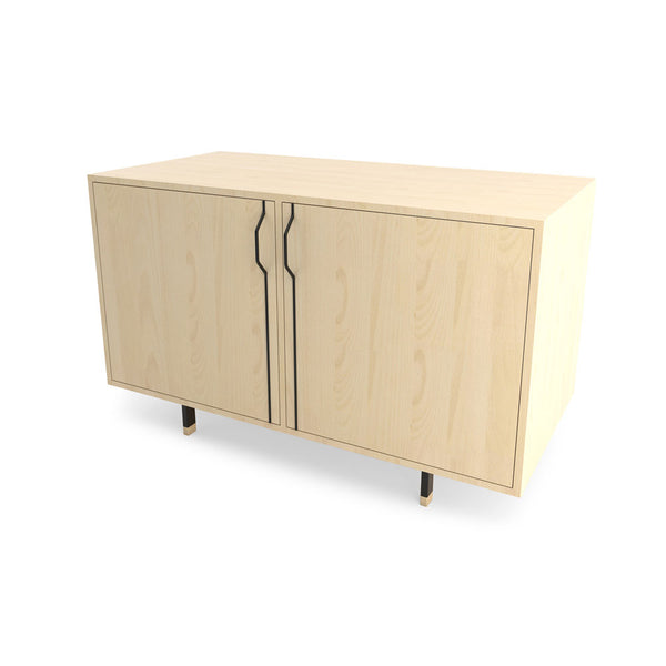 Chapman Double Unit Storage Cabinet - Maple