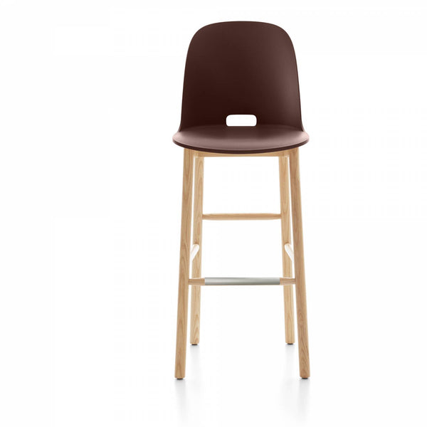 Alfi High Back Barstool