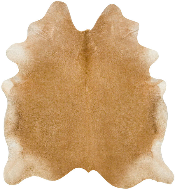 Cowhide Rug - Beige Long Hair