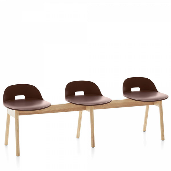 Alfi 3-Seat Low Back Bench
