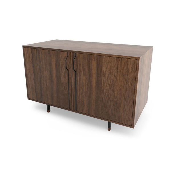 Chapman Double Unit Storage Cabinet - Walnut