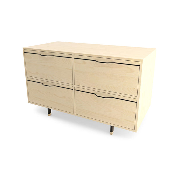 Chapman Small Storage Dresser Cabinet - Maple