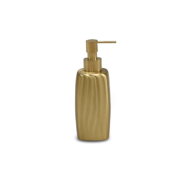 Brushed Brass Soap Bottle