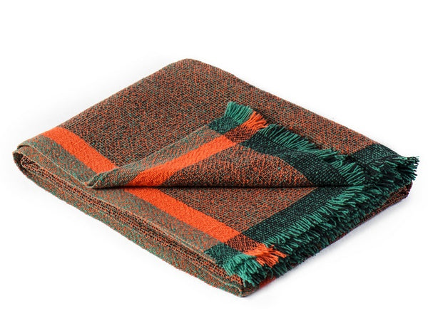Integrate Hand Woven Throw - Thinking