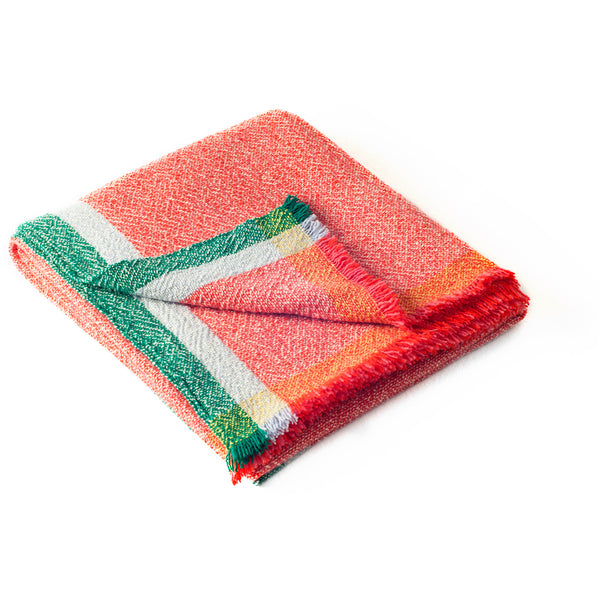 Integrate Hand Woven Throw - Feeling