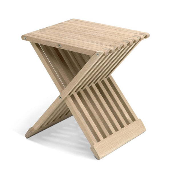 Fionia Folding Stool/Table - Oak