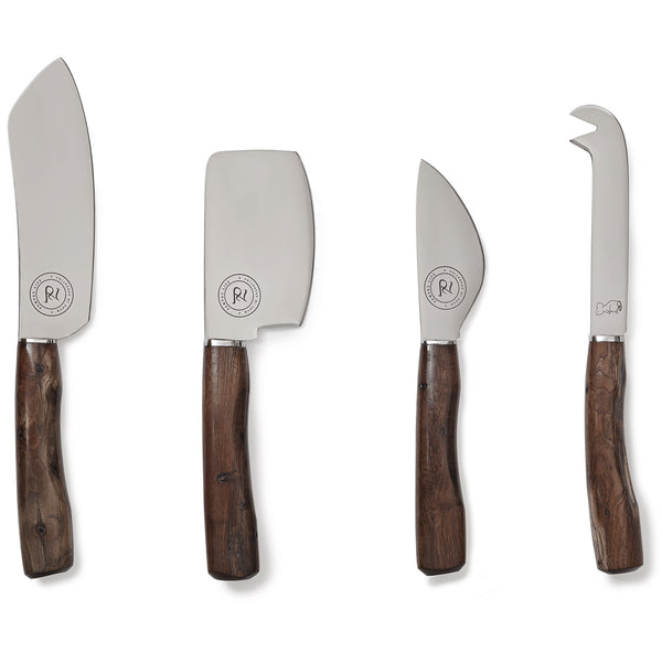 Palo Santo Cheese Knife Set - Set of 4
