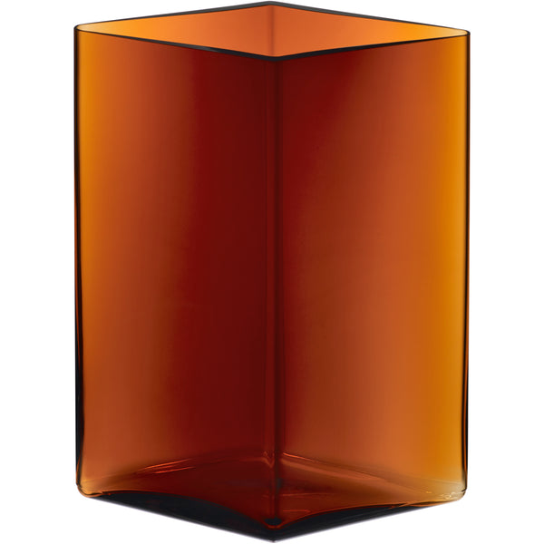 "Ruutu Vase Copper - 8.25"" x 10.75"""
