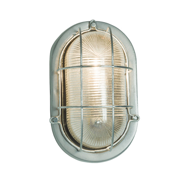 Oval Aluminum Bulkhead With Guard