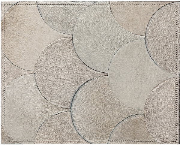 Amy Cowhide Rug - Ivory