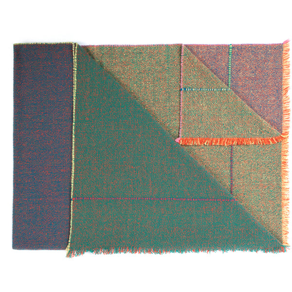 Integrate Hand Woven Throw - Quaternio