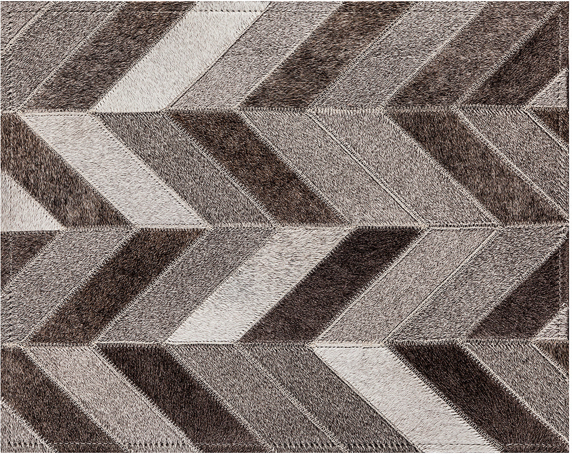 Franklin Cowhide Rug - Grey - 6 x 9 Product Image