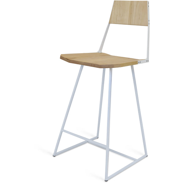 Clarkester Counter Stool - Maple