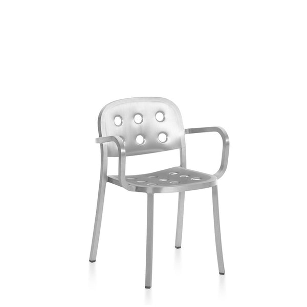 1 Inch All Aluminum Armchair by Jasper Morrison