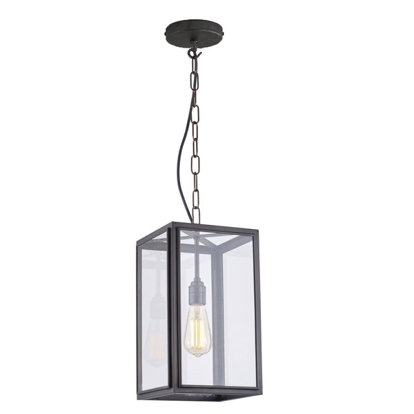 Square Pendant External Glass 7639 - Small