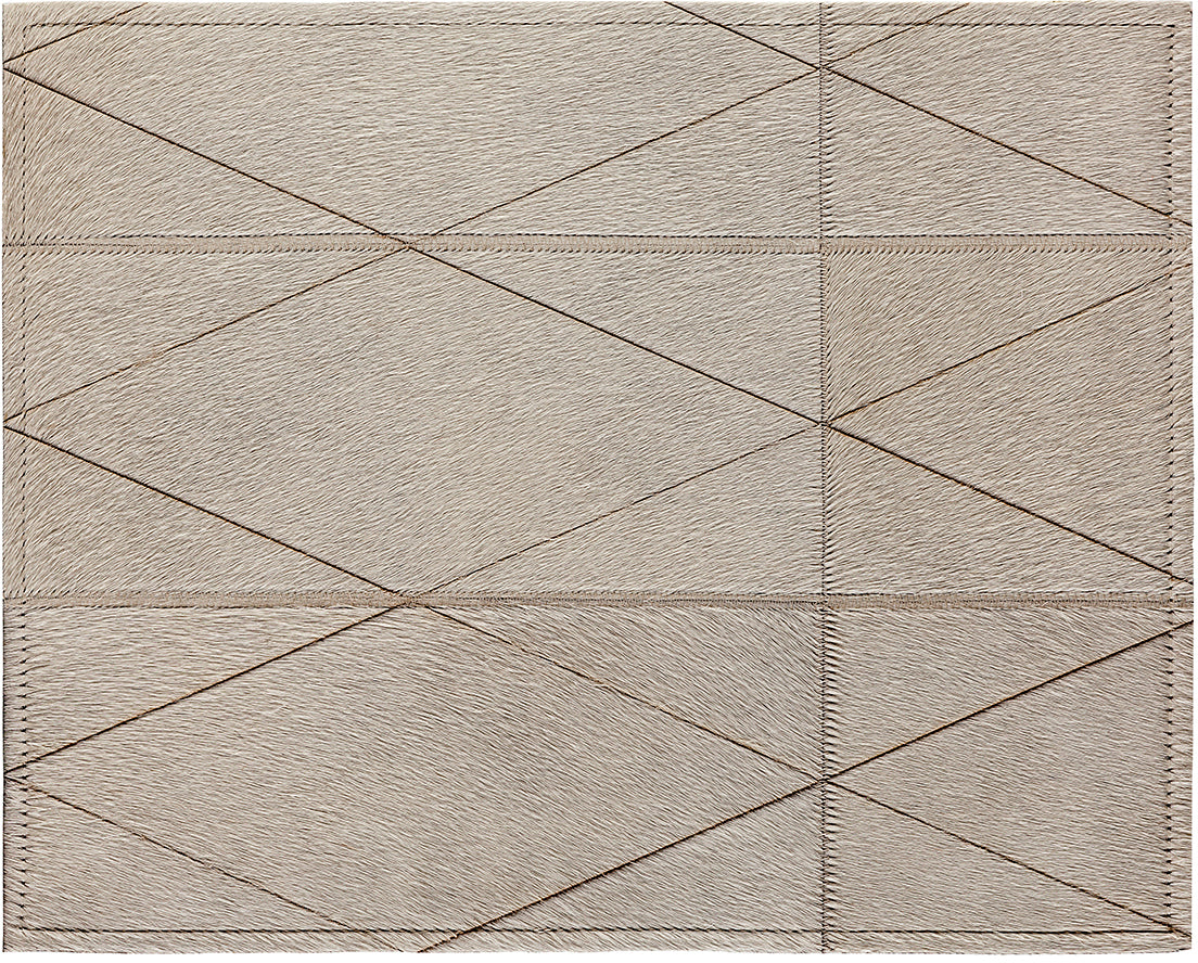 Norah Cowhide Rug - Ivory - 4 x 6 Product Image