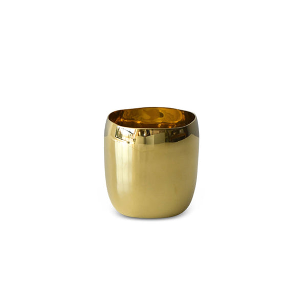 Brass Square Vessel 9cm