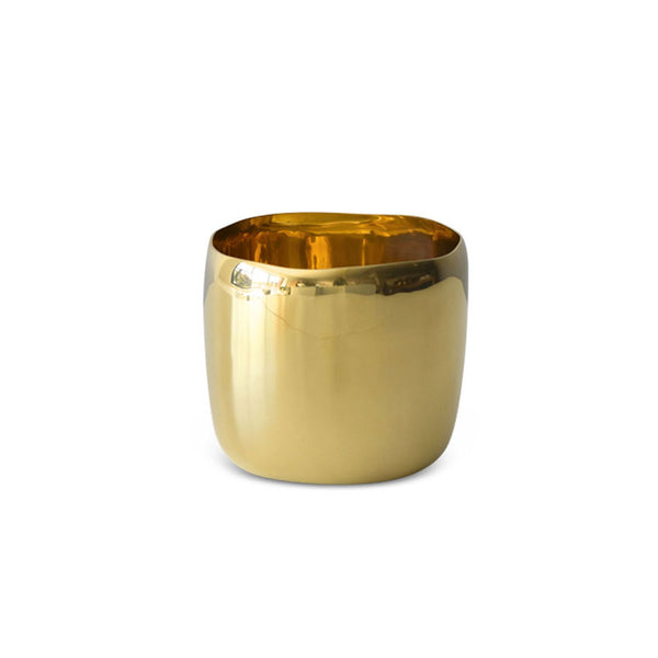 Brass Square Vessel 12cm