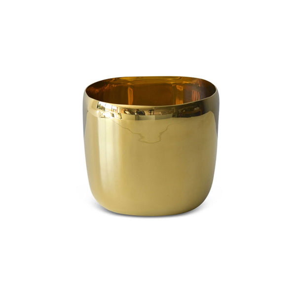 Brass Square Vessel 15cm