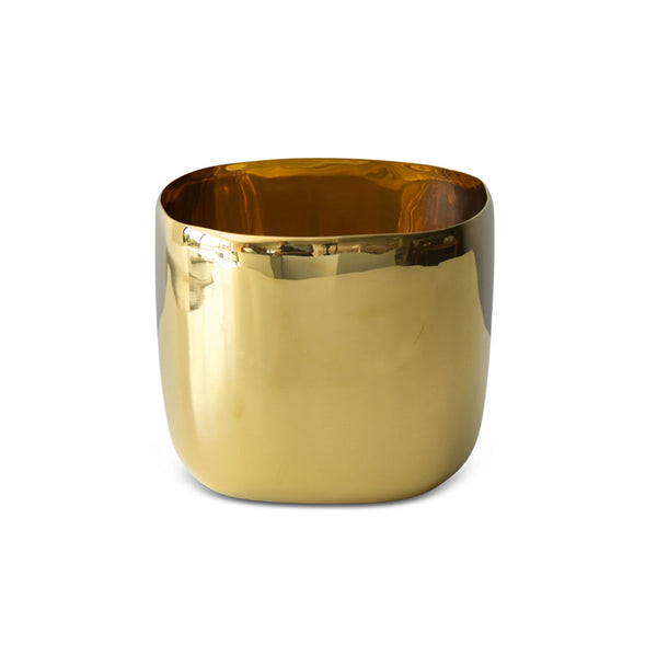 Brass Square Vessel 20cm