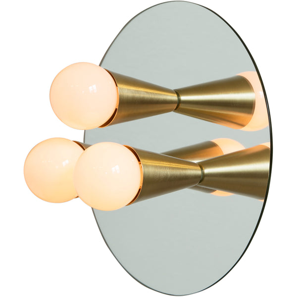 Echo 3 Sconce - Brass