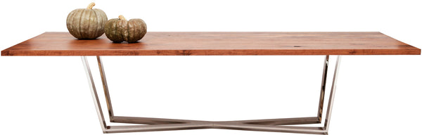 "GAX X Walnut Dining Table - 36"" Wide"