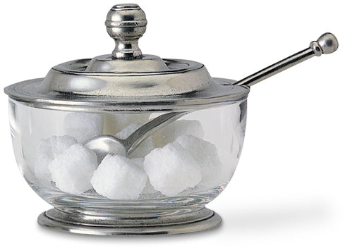 Sugar Bowl With Spoon