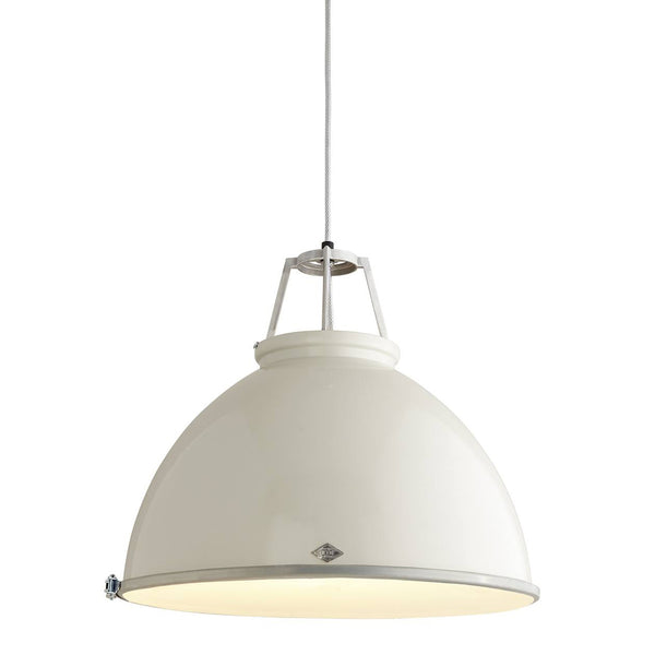 Titan 5 Pendant - Putty Grey w/ Diffuser