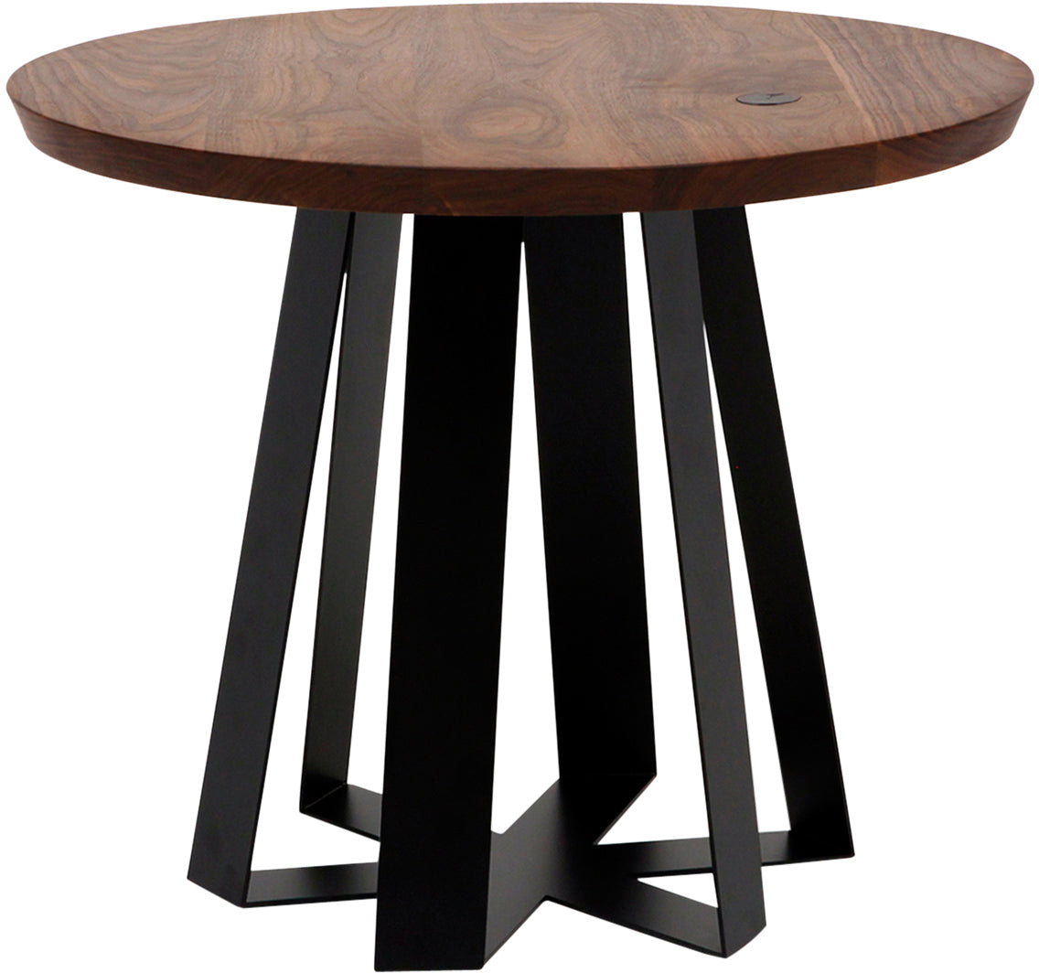 Artless ARS XL Table ARS XL 36dia x 30H Walnut Purple
