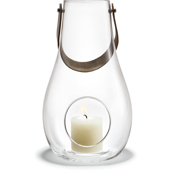 DWL Lantern - Clear Glass