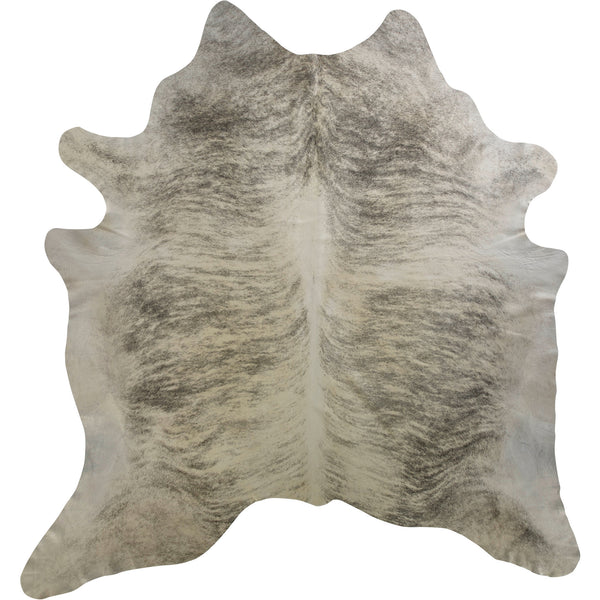 Cowhide Rug - Light Brindle Grey
