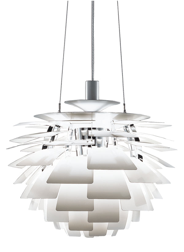 PH Artichoke Pendant - White Gloss