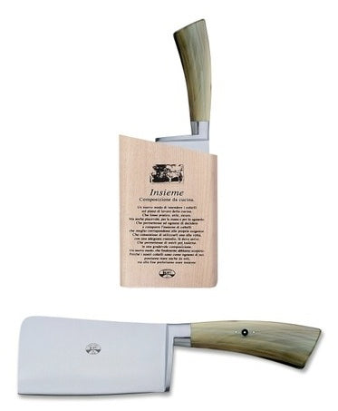 Insieme Cleaver - Ox Horn