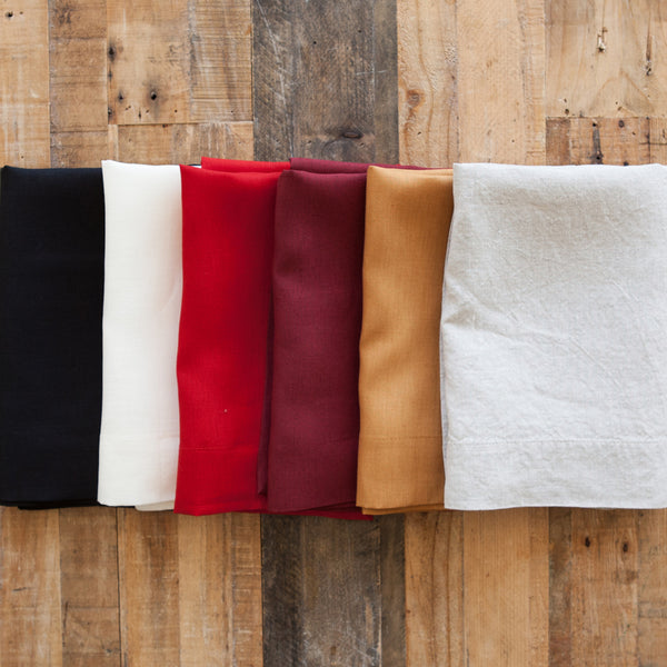 Scarlet Linen Napkin (Set of Four)