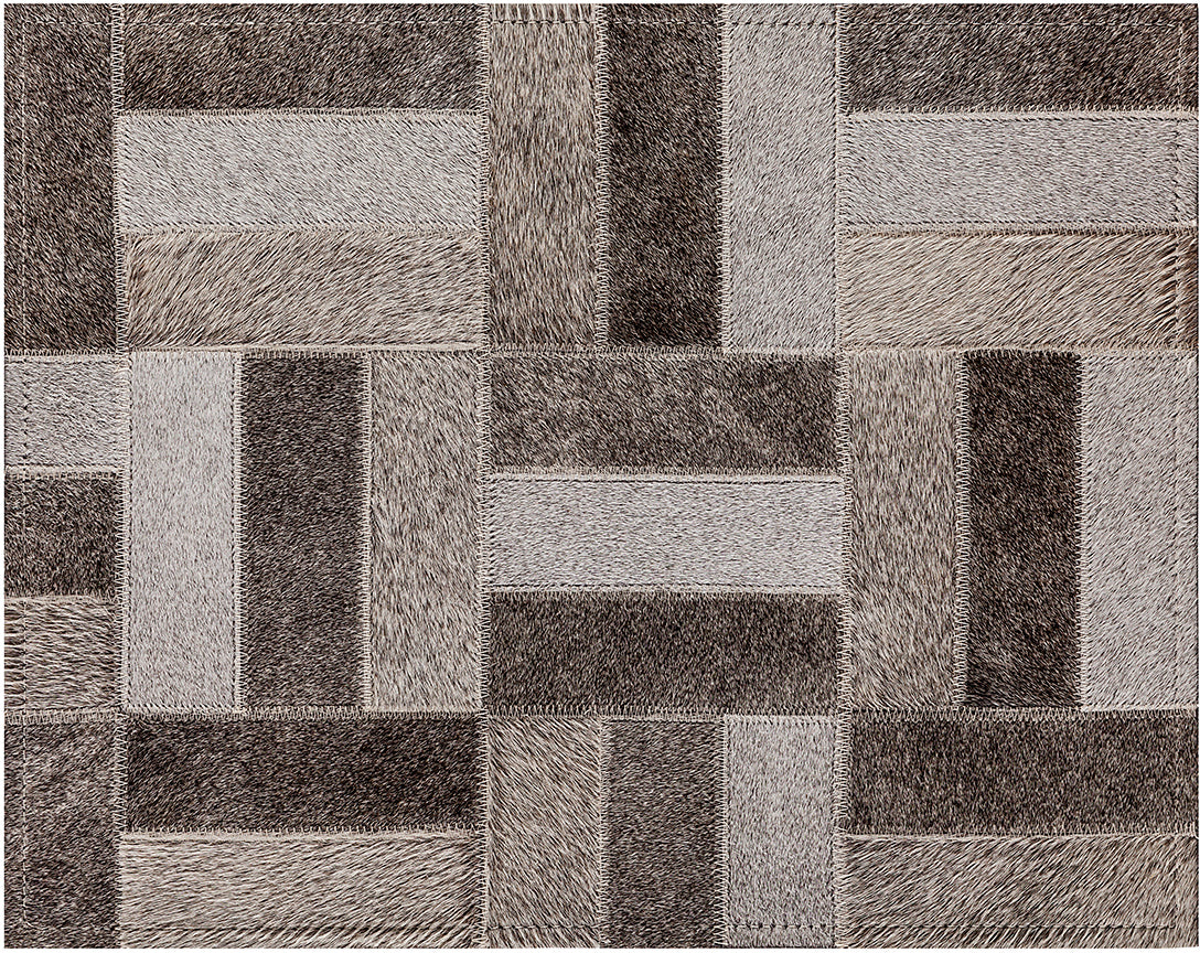 Holiday Cowhide Rug - Grey - 6 x 9 Product Image