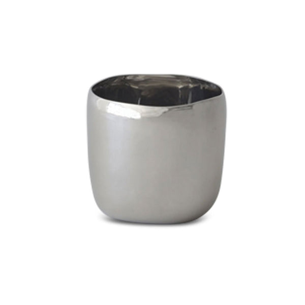 Stainless Steel Square Vessel 12cm