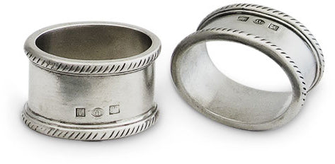 Luisa Oval Napkin Ring - Set of 2