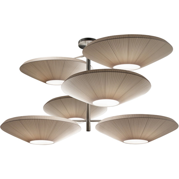 Siam 6 Luces Ceiling Lamp
