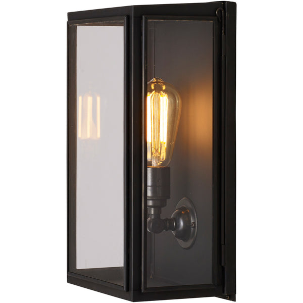 Box Wall Light - External Glass - Medium