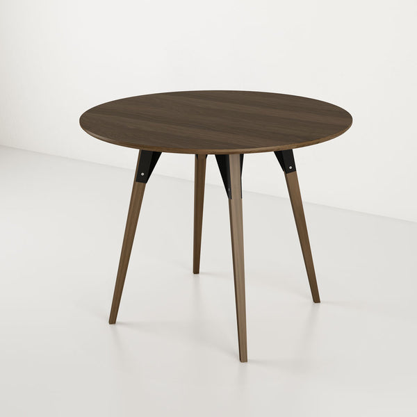 Clarke Small Circle Dining Table - Walnut