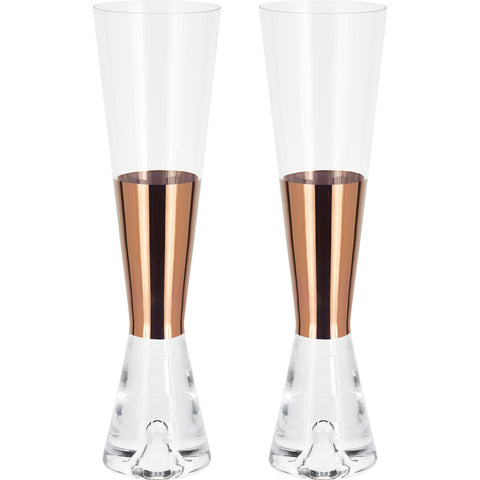 Tank Champagne Glass   Set Of 2