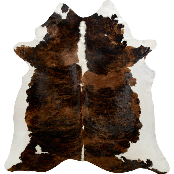 Cowhide Rug - Dark Tri Color Special