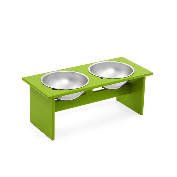 Minimalist Double Dog Bowl - Medium