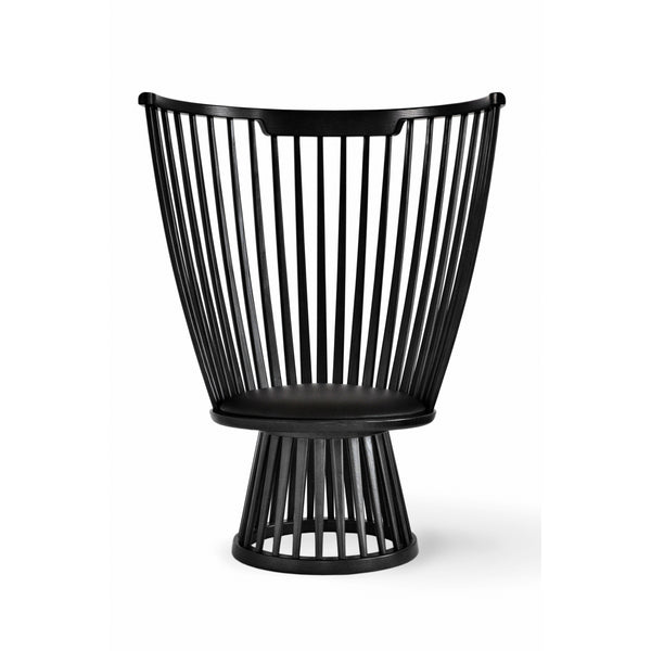 Fan Chair - Black