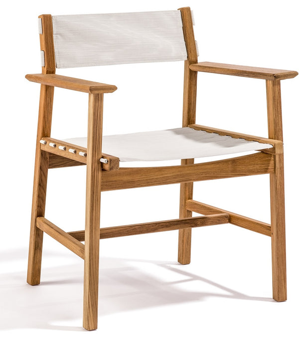 Djuro Dining Chair - Teak & Fabric
